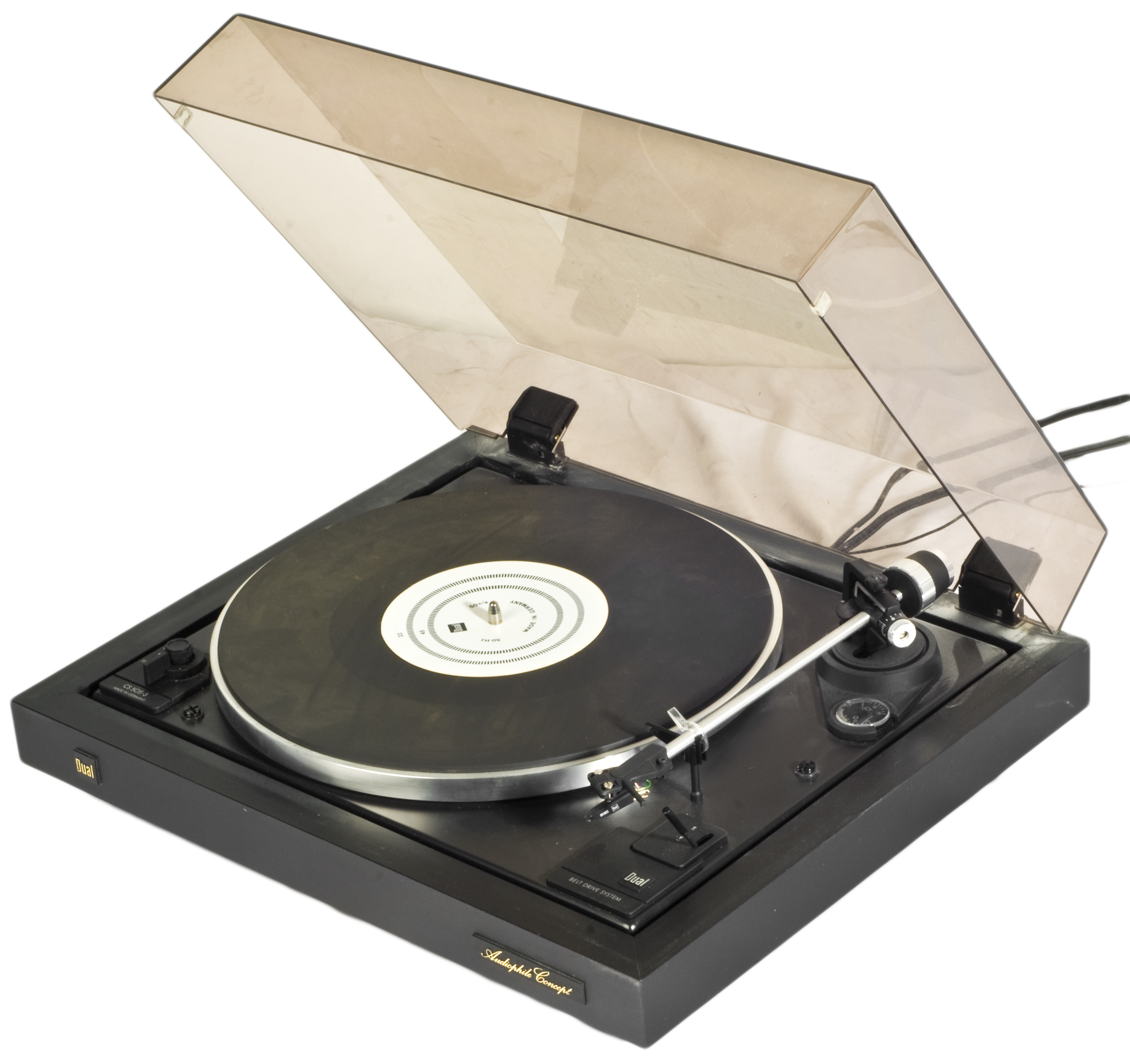 Dual RecordPlayer CS 5053  Classical vinyl record player from the