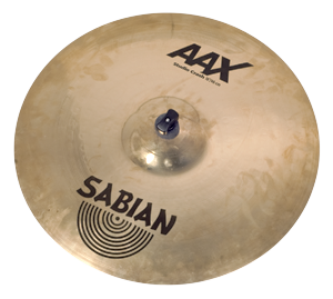 "Sabian AAX 18"" Studio Crash, Brilliant finish"