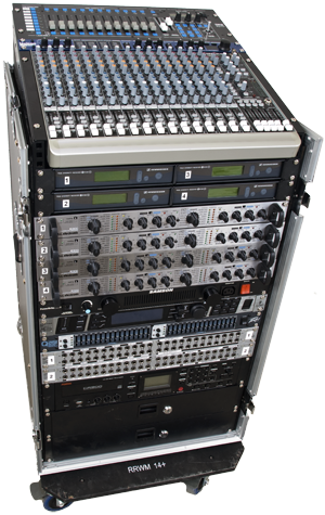 ACQ-MIXKIT-16 - 16 channel PA-system with luxuary feeling!