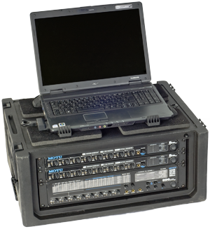 "- A complete solution for multichannel recording of up to 24 channels simultaneously. The solution contains an ACER laptop with 17"" screen, recording software Adobe Audition, and MOTU 896mk3 + 2 x MOTU 8PRE. A total of 24 channels with excellent recording quality."