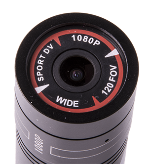 - High resolution lens with 120° FOV