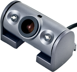 - Back/passanger compartment camera has two powerful IR-LED for total night vision