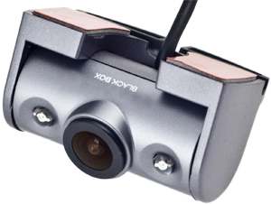 - The camera is mounted with the supplied adhesive bracket