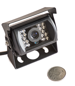 - In our new series of brand new vehicle cameras we offer very good cameras to reasonable prices for both mounting inside as well as outside a vehicle. ACQ-CARCAM6 hold the IP68 ingress standard making possible to use both ways however, since we also equipped with IR-LED for night vision, it meant to be used outside the vehicle. The IR-LED make it possible to use the camera in complete darkness. The high resolution make good use of the wide image angle.
