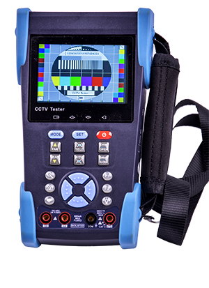 "- Two year ago, we released a new breed of test equipment for the market, the CCTV tester. Our ACQ-CCTV-TSTxx have been very popular and the market liked it very much. Once more, we have caught the our competitors with their pants down and once more ""invented the wheel"". With other words, developed a complete tool for the CCTV installer/technician that is updated to todays needs, the ACQ-CCTV-TST-IPPOE1. As the name imply, we have besides the normal functions like 12V power sourcing for cameras, DMM, PTZ-tester, microphone test, cable tester, fiber tester and so one like in the previous version, also included several test functions for IP cameras and Power-over-Ethernet, etc. Read on and you will start to wonder hove you ever have been able to work without it..."