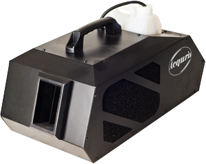 - A very powerfull and really good Haze machine that produce everything from a very light, invisible mist to denser smoke.