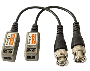 - Save time and money with our new balanced CCTV Video Balun that allow an video signal to be transferred via standard pair-twinned network cable, type CAT5 and CAT6. Due to its design, even HD signals (720p) can be transferred up to 300 meters in an proper design