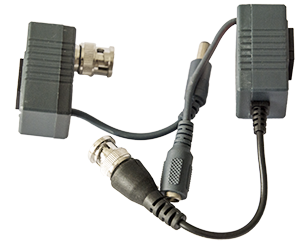 - Save time and money with our new balanced CCTV Video Balun that allow an video signal to be transferred via standard pair-twinned network cable, type CAT5 and CAT6. Due to its design, it can transfer signals and power to the camera, up to 600 meters in an proper design.