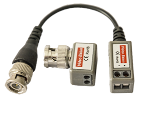 - Save time and money with our new balanced CCTV Video Balun that allow an video signal to be transferred via standard pair-twinned network cable, type CAT5 and CAT6. Due to its design, it can transfer the signals och power to the camera up to 600 meters in an proper design.