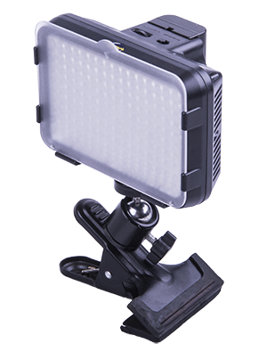 - ACQ-VIDLED160CW have an standard stand mount making possible to use on both photo stands as well as clamps