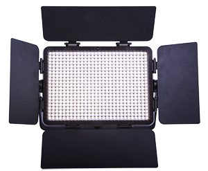 - A powerful studio light with LED-technology, including 588 LED