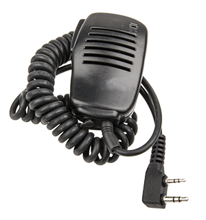 - To our own Walkie Talkies ACQ-WT10W, we also have a number of accessories. To simplify the handling and avoid to ha the radio up in the face, we have also a hand microphone as a accessory.