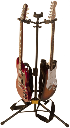Acquris Instrument Set With 2 Electric Guitars Sound