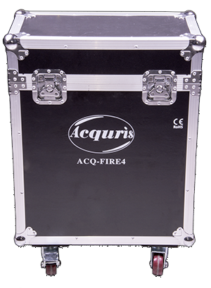 ACQURIS 4xFIRE4 Kit - Sturdy and just about the right and with wheels makes it easy to move around.
