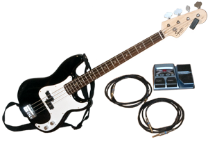 Acquris Fender Squier Bass Set