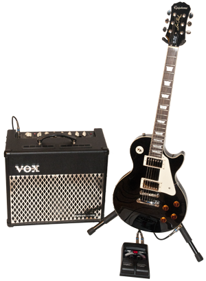 Acquris Guitar Combo Set - Les Paul Standard / VOX VT30