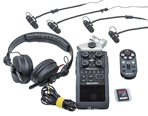ACQURIS Orchestra Closeup Mic Recording Kit - A very well sounding field recording kits that works excellent for quartets, trios, etc since we have together with the recorder included DPS
