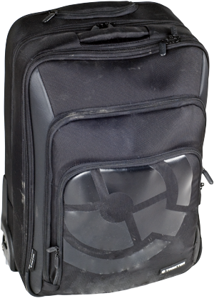 - Practical carrying case for all gear