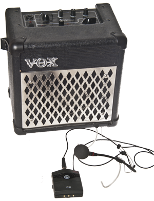 VOX DA5 - Mini combo amplifier and woreless microphone