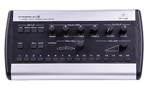 - Behringers Powerplay P16-M is a 16-channel personal monitor mixer that is digitally connected to our Behringer X32 mixer/Behringer S16.