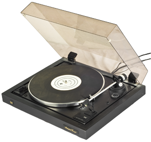 Dual Record-Player CS 505-3 - Classical vinyl record player from the good old days. West-German company Dual