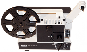 Antique Eumig Mark 605D film projector
