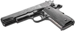 - The M1911 is a single-action, semi-automatic, magazine-fed, recoil-operated handgun