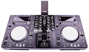 - Our absolute latest DJ kit consisting of PIONEER XDJ-R1, a really versitile combined DJ-mixer and control surface with the posibility to operate from both the built-in CD players as well as from a USB-stick. However XDJ-R1 can also be connected to a computer and thereby be controlled via softwares like Virtual-DJ, etc