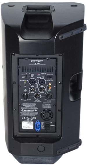 PA Kit - QSC K12 Normal - Back with flexible connectivity