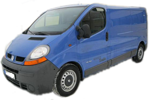 Rent of Renault Trafic