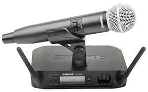 Shure GLXD24/SM58 2.4GHz Wireless Microphone