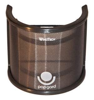 "- Olsen Audio Group is know for their high quality pop protections. WindTech PopGard is there lastet invention, a very smooth and easy to mount pop protection with very high ""pop-rejection"" without loosing any acoustic transperency."