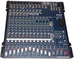 Yamaha MG166CX Audio Mixer